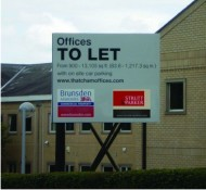 Estate Agency Board to let
